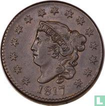 Verenigde Staten 1 cent 1817 (15 stars)