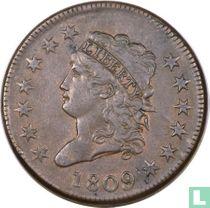 Verenigde Staten 1 cent 1809