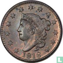 Verenigde Staten 1 cent 1818