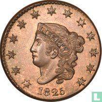 Verenigde Staten 1 cent 1825