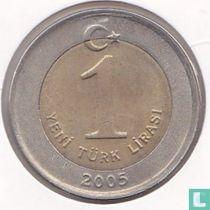 Turkije 1 yeni türk lirasi 2005