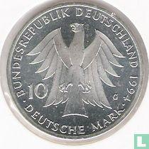 "Duitsland 10 mark 1994 ""200th anniversary Birth of Johann Gottfried Herder"""