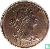 Verenigde Staten 1 cent 1796 (reverse of 1797)