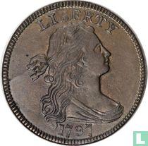 Verenigde Staten 1 cent 1797 (reverse 1795 gripped edge)