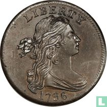 Verenigde Staten 1 cent 1796 (reverse of 1794)