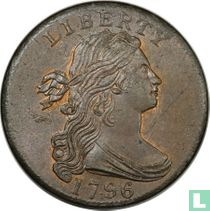 Verenigde Staten 1 cent 1796 (reverse 1795)
