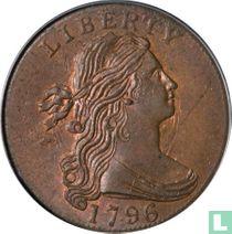 Verenigde Staten 1 cent 1796 met keerzijde 1796