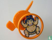Kinder Game - Schietschijfje Sumo-worstelaar