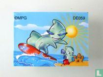 Kinder Game - Boekje van strandspookjes