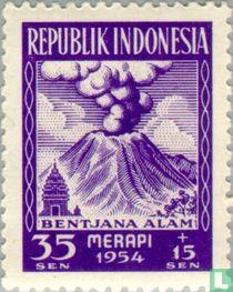 Merapi volcano eruption victims