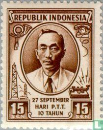 10 years Indonesian post