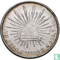 Mexico 1 peso 1900 (Go RS)