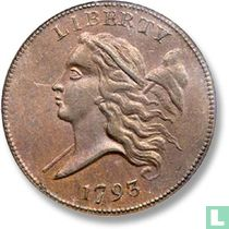 United States ½ cent 1793