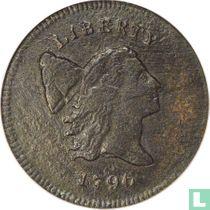United States ½ cent 1796 (type 2)