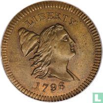 United States ½ cent 1796 (Edwards copy)