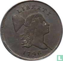 United States ½ cent 1796 (type 1)