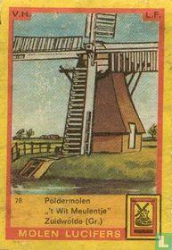 """Poldermolen """"'t Wit Meulentje"""" Zuidwolde (Gr.)"""