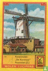 """Korenmolen """"De Korenaar"""" Poortvliet (Z.)"""