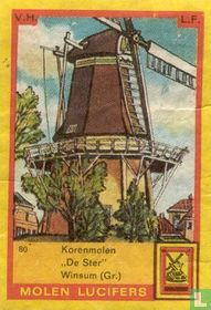"""Korenmolen """"De Ster"""" Winsum (Gr.)"""