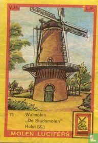"""Walmolen """"De Stadsmolen"""" Hulst (Z.)"""