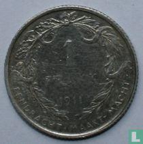 België 1 franc 1911 (NLD)