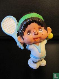 Monchhichi Tennis