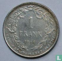 België 1 franc 1914 (NLD - muntslag)