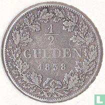 Beieren ½ gulden 1838