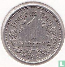 Duitse Rijk 1 reichsmark 1933 (A)