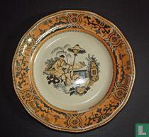 Ontbijtbord Ø 19,5 cm - Pajong - Petrus Regout & Co