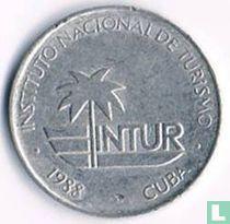 Cuba 5 centavos 1988 (INTUR)