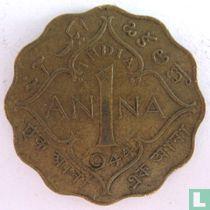 Brits-Indië 1 anna 1944 (Calcutta)