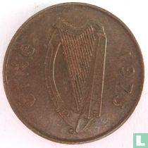 Ierland 2 pence 1975