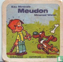 Eau minerale Meudon Mineraal Water orange - citron - tonic