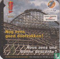 Six Flags Belgium - Nog eens goed doorzakken!