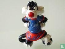 Sylvester als Fußballer