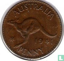 Australië 1 penny 1941 (K.G.)