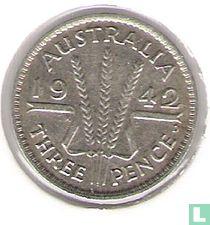 Australië 3 pence 1942 (D)