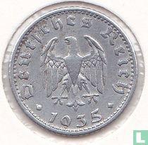 Duitse Rijk 50 reichspfennig 1935 (aluminium - D)