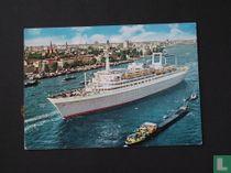 ''Rotterdam'' Vlaggenschip Holland-Amerika lijn