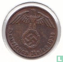 Duitse Rijk 1 reichspfennig 1938 (D)