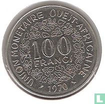 West-Afrikaanse Staten 100 francs 1970