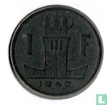 België 1 franc 1942 (FRA-NLD)