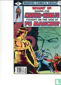what if shang-chi master of kung fu fought on the side of fu manchu?