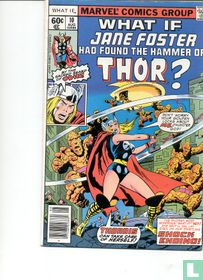 what if jane foster had found the hammer of thor?