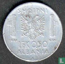 Albanien 0,50 lek 1941