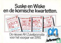 Suske en Wiske en de komische kwartetten