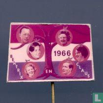 Beatrix en Claus 1966