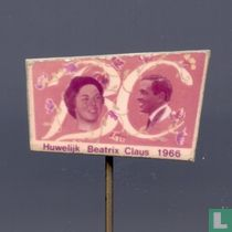 BC Huwelijk Beatrix en Claus 1966