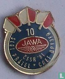 10 Jawa ČSSR  '81 Slet přátel - спет друзей
